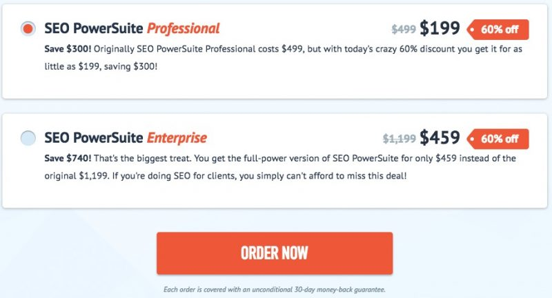 seopowersuite discount summer sale