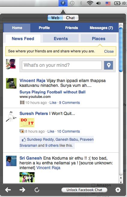 Facebox Facebook App