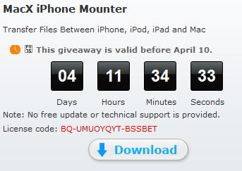 macx iphone mounter