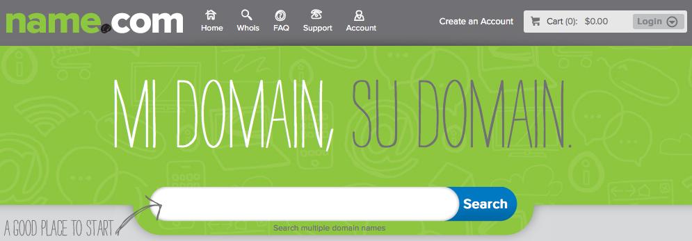 name.com new design