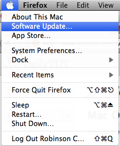 Mac OS X Software Update