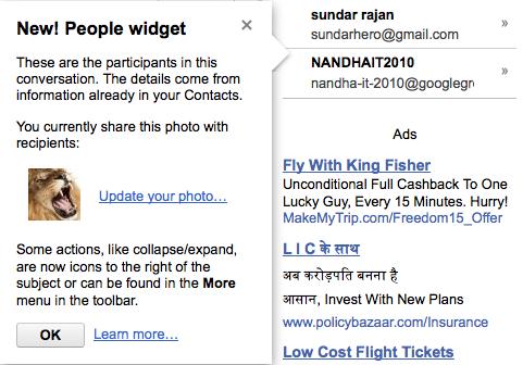 google people widget