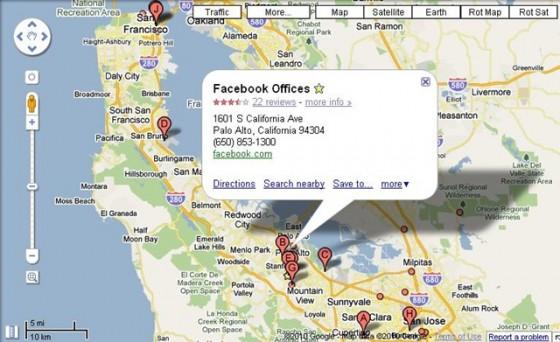 google earth on facebook