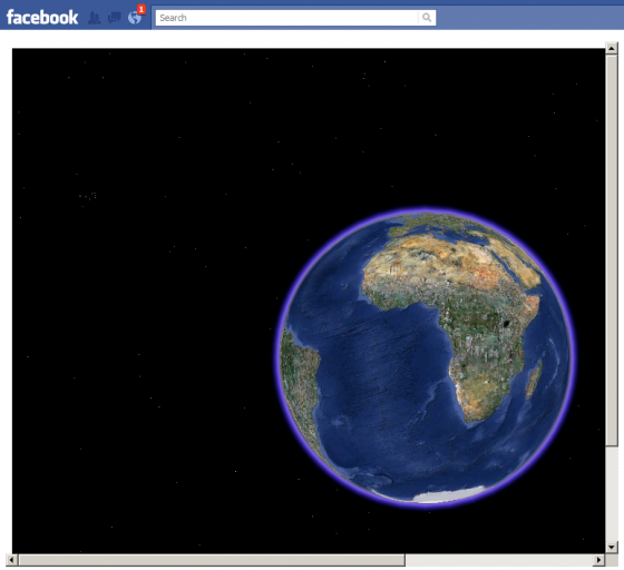 google earth facebook 5