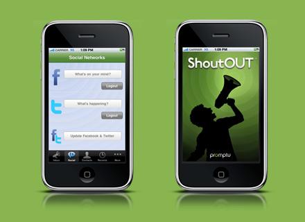 shoutout facebook app