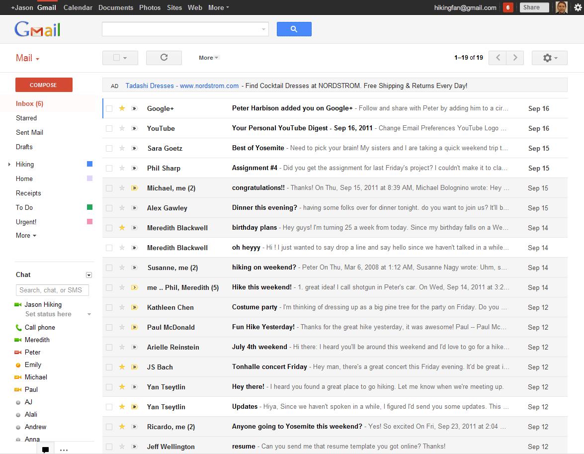 new gmail