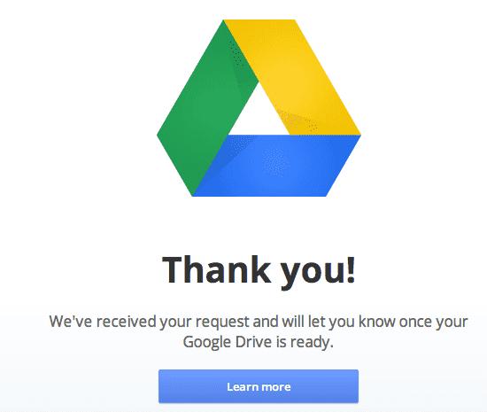 google drive invite