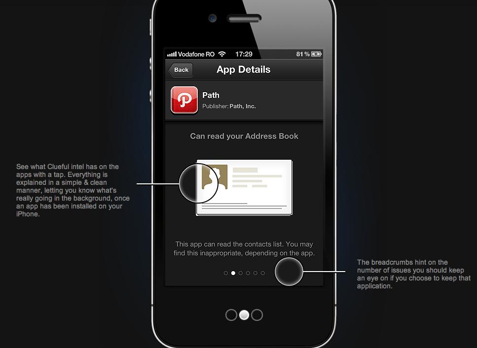 clueful iphone app