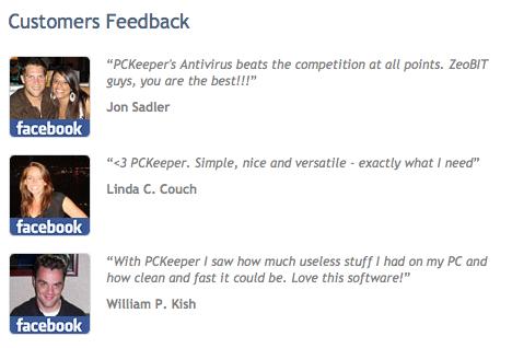 pckeeper testimonials
