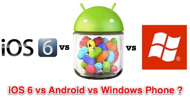 android vs ios vs windows phone