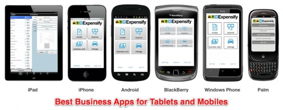 business apps tablets