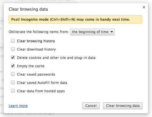 google-chrome-clear-browsing-data