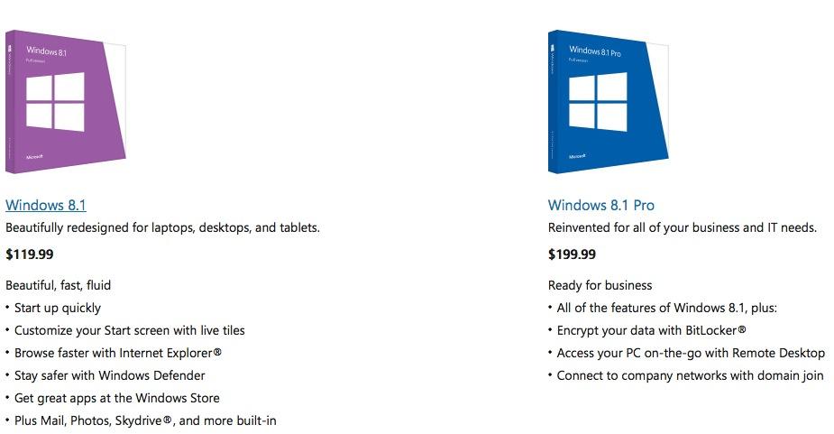 windows-8-1-pricing