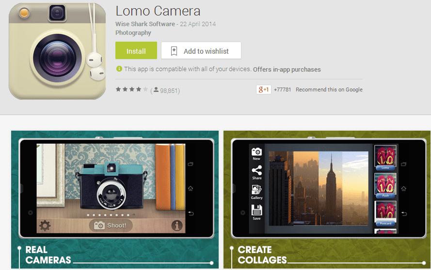 lomo-camera-app