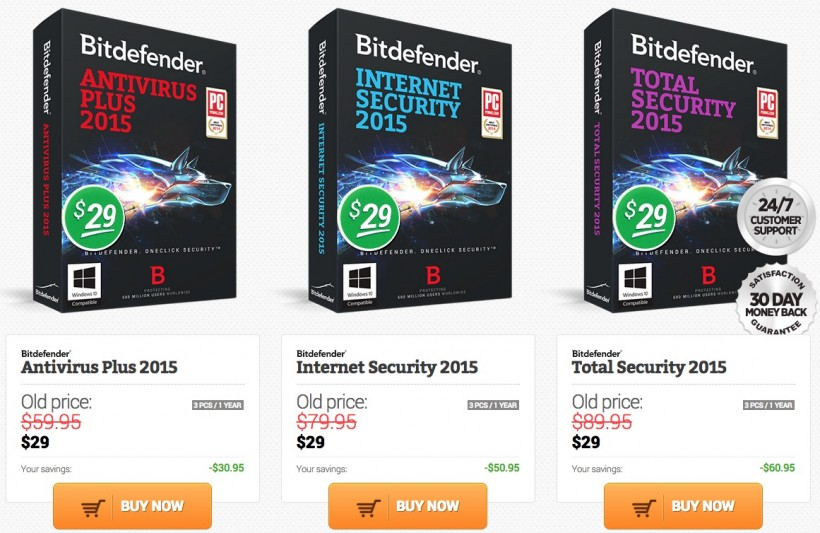 bitdefender offers