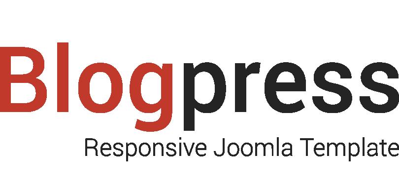 blogpress-joomla-template