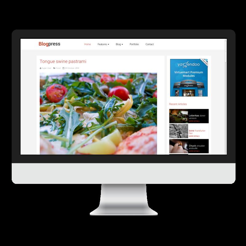blogpress-template-mac