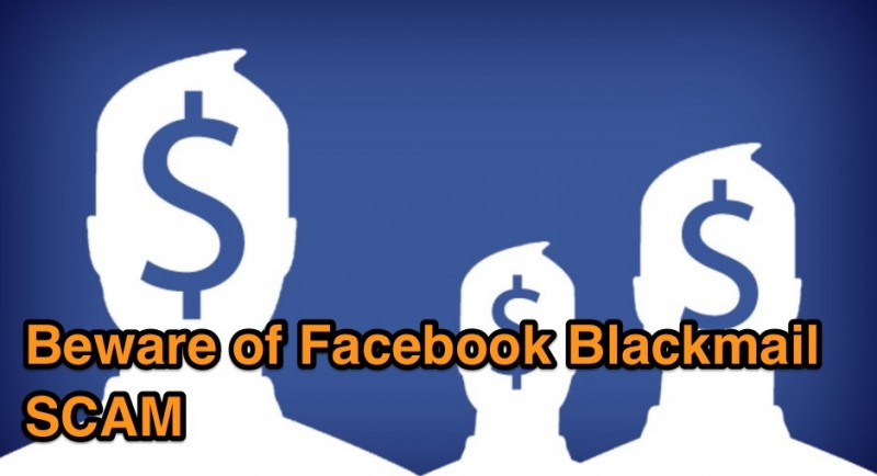 facebook blackmail scam tips