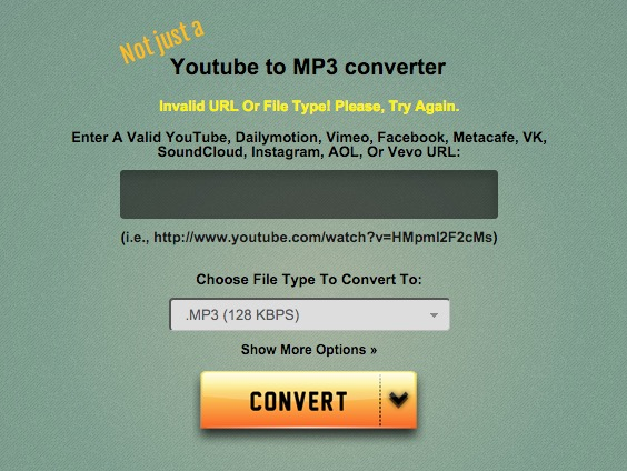 grabform youtube video mp3 online converter