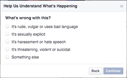 report facebook videos tutorial