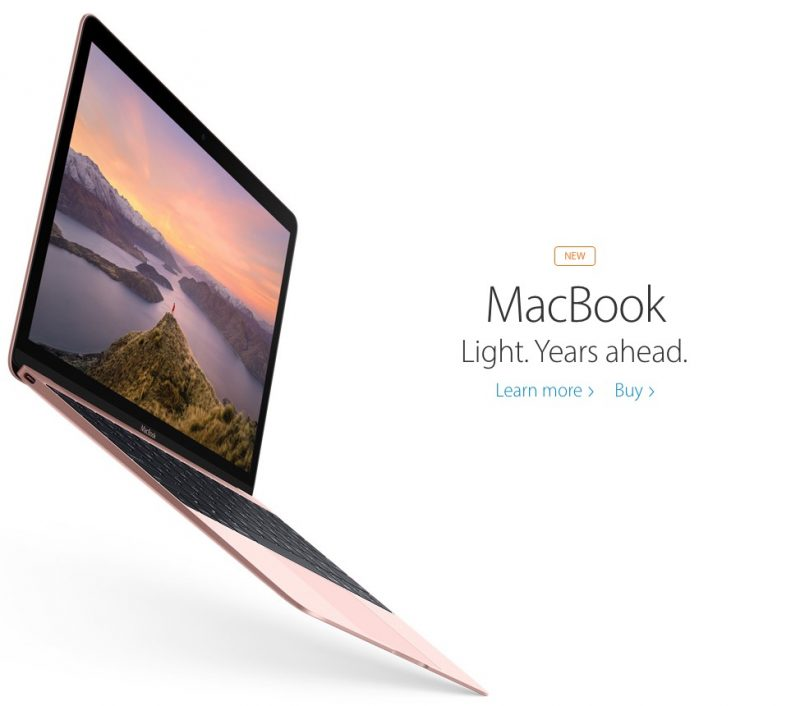 macbook 12 inch 2016 model