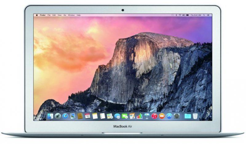 macbookair 2016 model