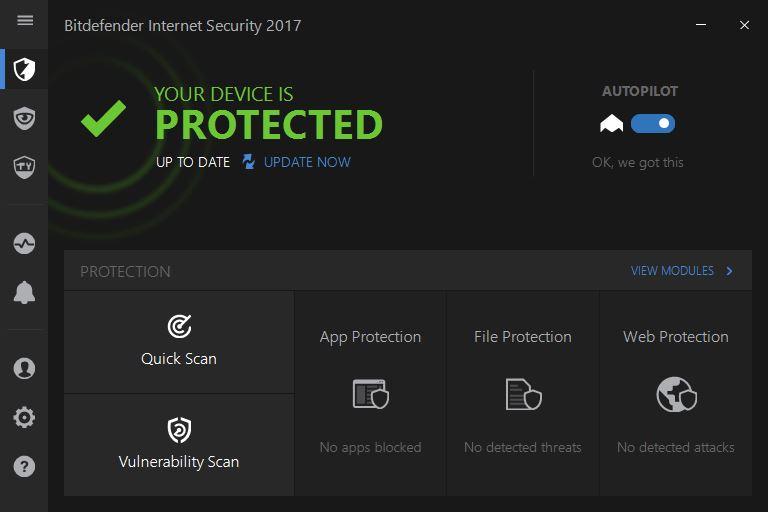bitdefender internet security 2017 home