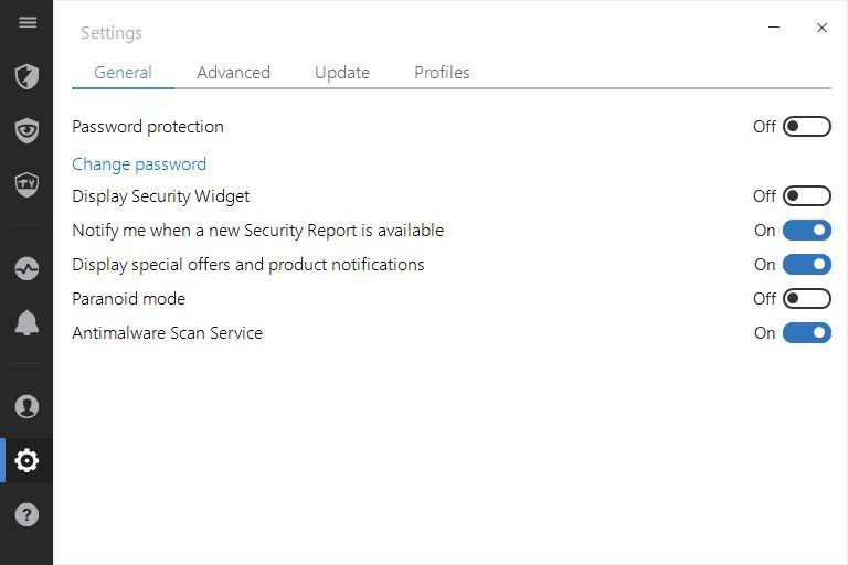 bitdefender internet security 2017 settings