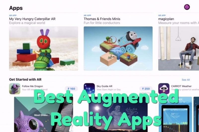 best augmented reality apps iphone ipad