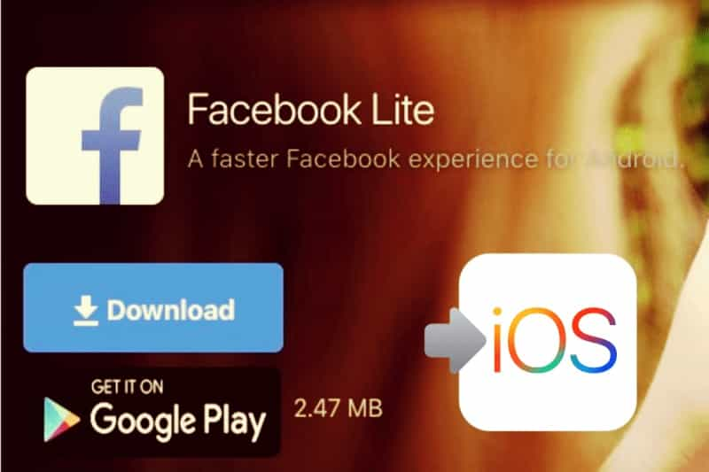 download facebook lite iphone