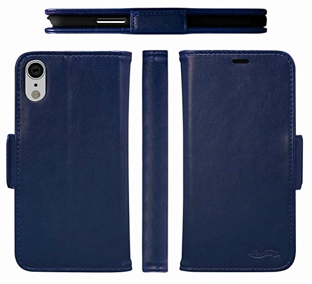iphone xr leather wallet case newseego
