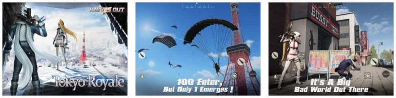 Knives Out-Tokyo Royale for iphone and ipad