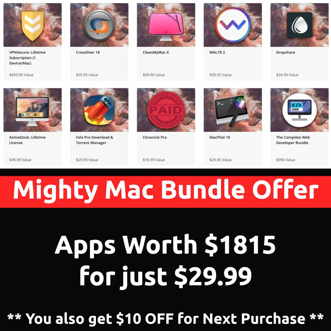 mac apps bundle discount
