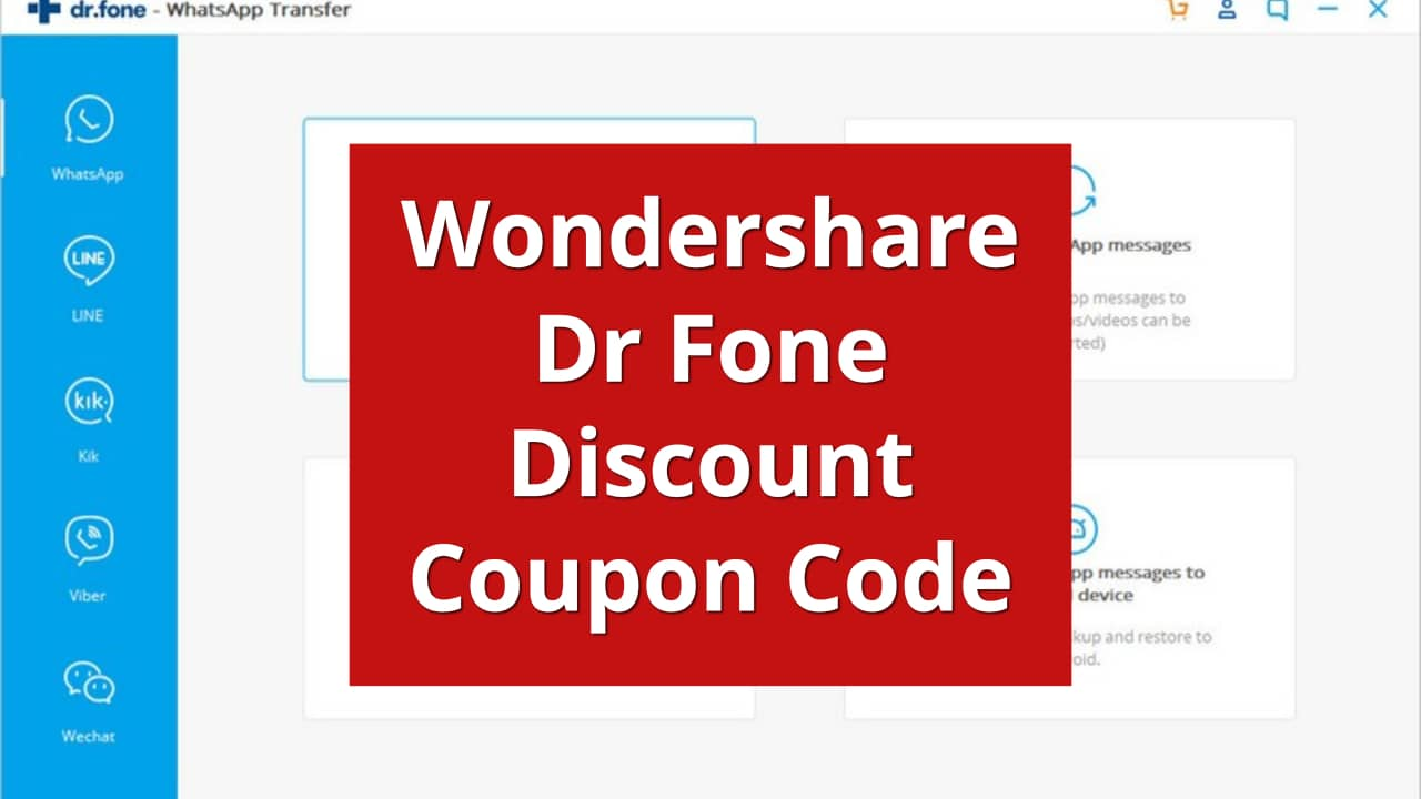 wondershare drfone discount coupon code