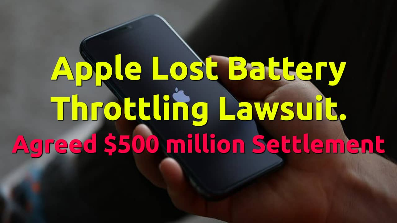 apple lost 500 million dollar lawsuit