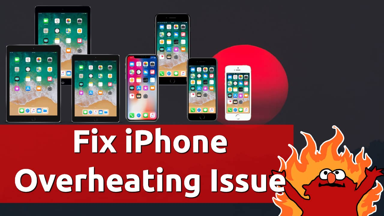 fix iphone overheating problem