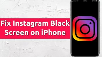 instagram black screen crash iphone
