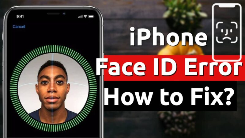 iphone face id error ios software update fix