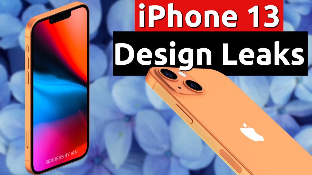 iphone 13 design camera leaks