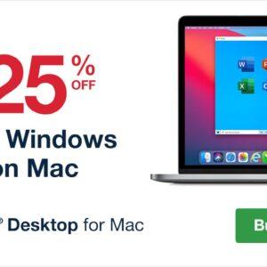 parallels desktop mac m1 discount coupon