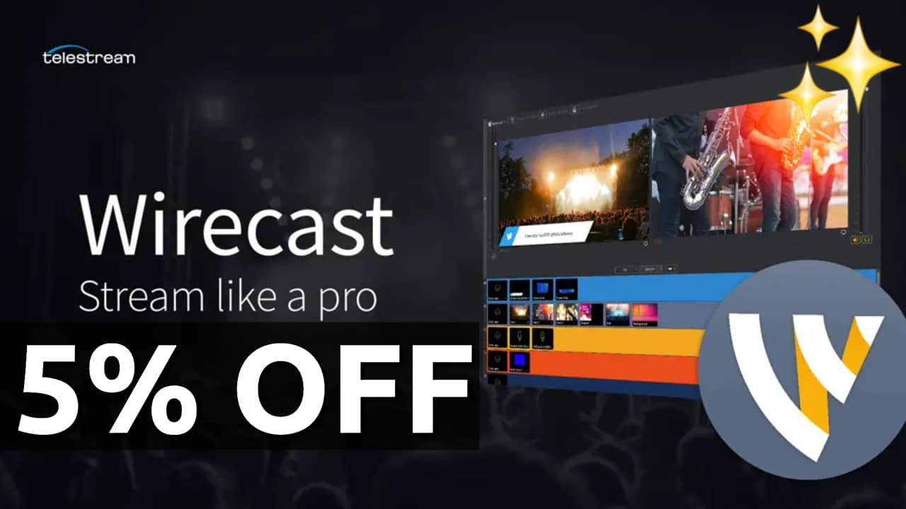 wirecast discount coupon