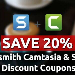 new techsmith camtasia discount coupon code