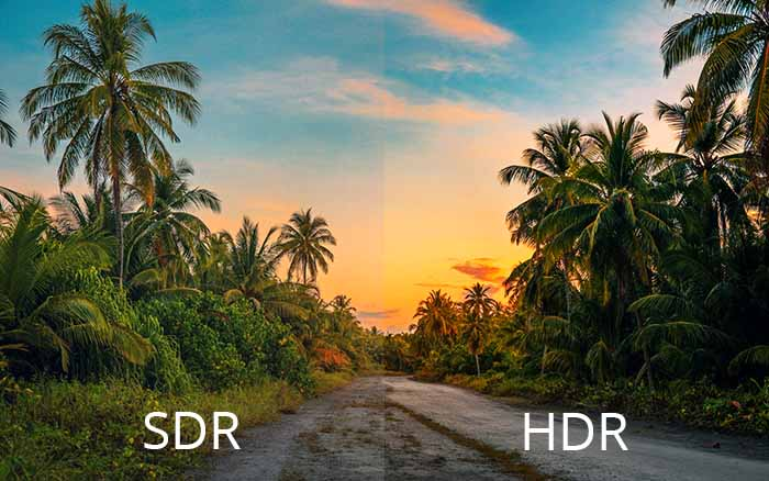 windows 11 gaming sdr hdr differences