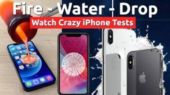 top crazy iphone tests watch gun water drop tests